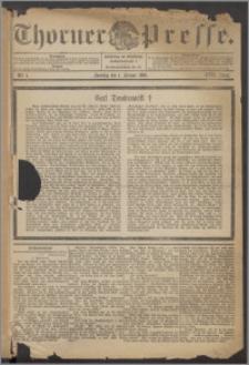 Thorner Presse 1899, Jg. XVII, Nr. 1 + Beilage