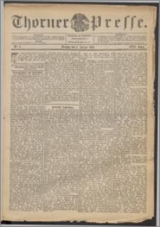 Thorner Presse 1899, Jg. XVII, Nr. 2 + Beilage, Beilagenwerbung