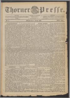 Thorner Presse 1899, Jg. XVII, Nr. 3 + Beilage