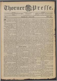 Thorner Presse 1899, Jg. XVII, Nr. 4 + Beilage
