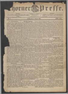 Thorner Presse 1899, Jg. XVII, Nr. 5 + Beilage