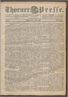 Thorner Presse 1899, Jg. XVII, Nr. 8 + Beilage