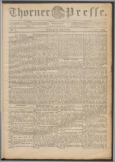 Thorner Presse 1899, Jg. XVII, Nr. 11 + Beilage