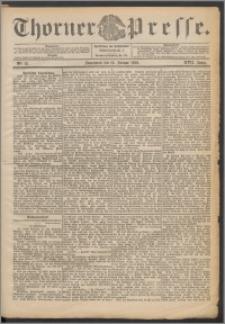 Thorner Presse 1899, Jg. XVII, Nr. 12 + Beilage