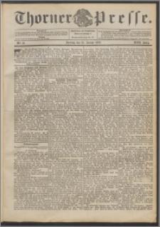 Thorner Presse 1899, Jg. XVII, Nr. 19 + Beilage