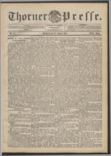 Thorner Presse 1899, Jg. XVII, Nr. 21 + Beilage
