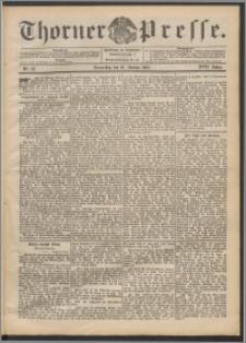 Thorner Presse 1899, Jg. XVII, Nr. 22 + Beilage