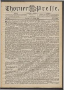 Thorner Presse 1899, Jg. XVII, Nr. 25 + 1. Beilage, 2. Beilage