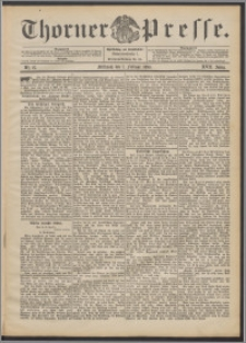 Thorner Presse 1899, Jg. XVII, Nr. 27 + Beilage, Beilagenwerbung