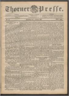 Thorner Presse 1899, Jg. XVII, Nr. 28 + Beilage