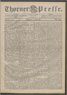 Thorner Presse 1899, Jg. XVII, Nr. 32 + Beilage