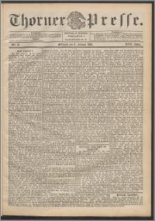 Thorner Presse 1899, Jg. XVII, Nr. 33 + Beilage
