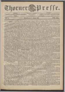 Thorner Presse 1899, Jg. XVII, Nr. 34 + Beilage