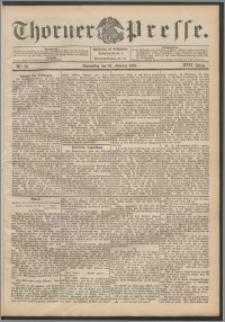 Thorner Presse 1899, Jg. XVII, Nr. 40 + Beilage