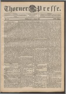 Thorner Presse 1899, Jg. XVII, Nr. 43 + Beilage