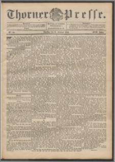 Thorner Presse 1899, Jg. XVII, Nr. 44 + Beilage
