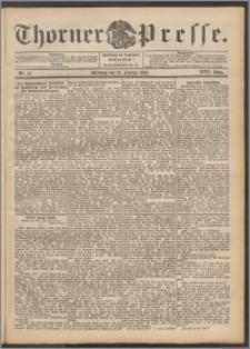 Thorner Presse 1899, Jg. XVII, Nr. 45 + Beilage