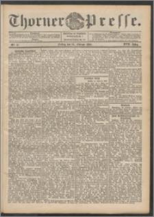 Thorner Presse 1899, Jg. XVII, Nr. 47 + Beilage