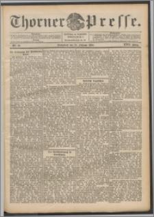 Thorner Presse 1899, Jg. XVII, Nr. 48 + Beilage, Extrablatt
