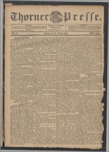 Thorner Presse 1899, Jg. XVII, Nr. 50 + Beilage