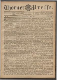Thorner Presse 1899, Jg. XVII, Nr. 54 + Beilage
