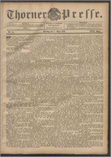 Thorner Presse 1899, Jg. XVII, Nr. 55 + 1. Beilage, 2. Beilage