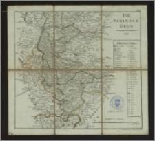 Atlas von dem zu Südpreussen gehörigen Posener Kammer. Departement in XVIII Blättern. No. XI, Der Szrimmer Kreis, 1798