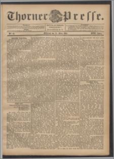Thorner Presse 1899, Jg. XVII, Nr. 63 + Beilage