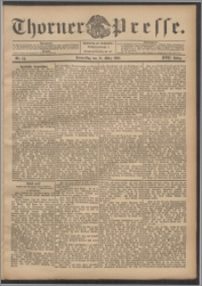 Thorner Presse 1899, Jg. XVII, Nr. 64 + Beilage