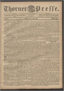 Thorner Presse 1899, Jg. XVII, Nr. 67 + 1. Beilage, 2. Beilage