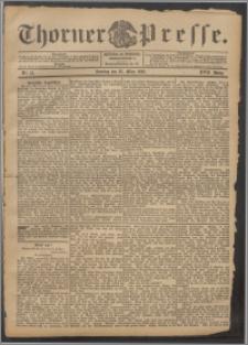 Thorner Presse 1899, Jg. XVII, Nr. 73 + 1. Beilage, 2. Beilage