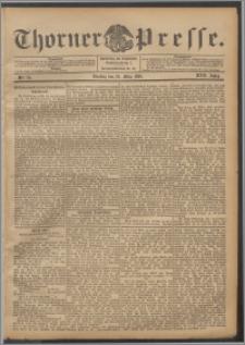Thorner Presse 1899, Jg. XVII, Nr. 74 + Beilage