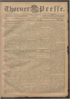 Thorner Presse 1899, Jg. XVII, Nr. 80 + Beilage