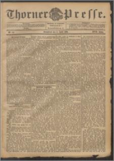 Thorner Presse 1899, Jg. XVII, Nr. 82 + Beilage, Extrablatt