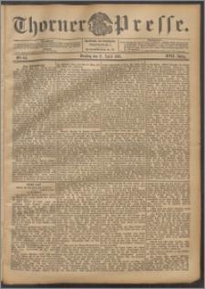 Thorner Presse 1899, Jg. XVII, Nr. 84 + Beilage