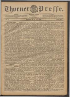 Thorner Presse 1899, Jg. XVII, Nr. 86 + Beilage, Extrablatt