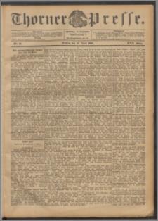 Thorner Presse 1899, Jg. XVII, Nr. 90 + Beilage