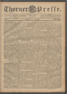 Thorner Presse 1899, Jg. XVII, Nr. 95 + 1. Beilage, 2. Beilage