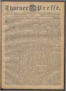 Thorner Presse 1899, Jg. XVII, Nr. 101 + 1. Beilage, 2. Beilage