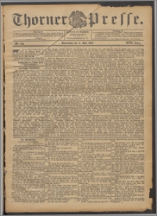 Thorner Presse 1899, Jg. XVII, Nr. 104 + Beilage