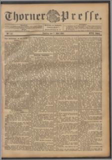Thorner Presse 1899, Jg. XVII, Nr. 107 + 1. Beilage, 2. Beilage