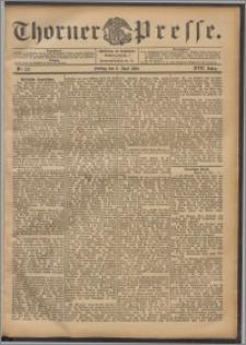 Thorner Presse 1899, Jg. XVII, Nr. 127 + Beilage