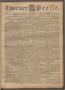 Thorner Presse 1899, Jg. XVII, Nr. 140 + Beilage