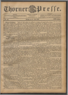 Thorner Presse 1899, Jg. XVII, Nr. 142 + Beilage
