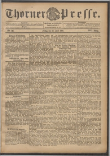 Thorner Presse 1899, Jg. XVII, Nr. 145 + Beilage, Extrablatt