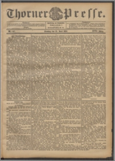 Thorner Presse 1899, Jg. XVII, Nr. 147 + 1. Beilage, 2. Beilage
