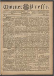 Thorner Presse 1899, Jg. XVII, Nr. 151 + Beilage