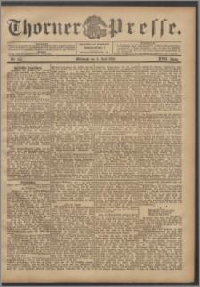 Thorner Presse 1899, Jg. XVII, Nr. 155 + Beilage