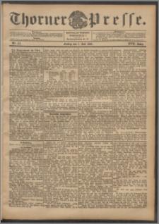 Thorner Presse 1899, Jg. XVII, Nr. 157 + Beilage