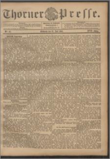 Thorner Presse 1899, Jg. XVII, Nr. 161 + Beilage